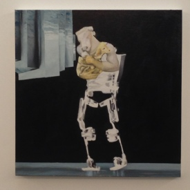 god, oil on canvas, 2015