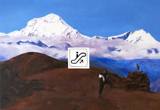 acrylics on canvas, 2007