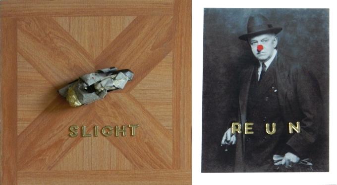 slight return, mixed media, 2011