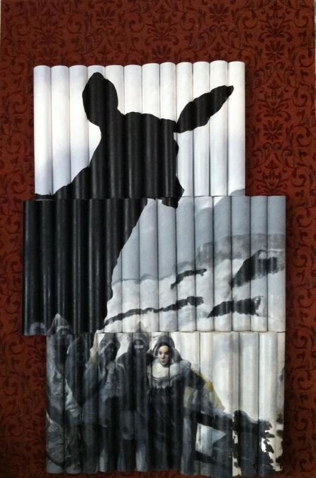 acrylics on canvas, 2005