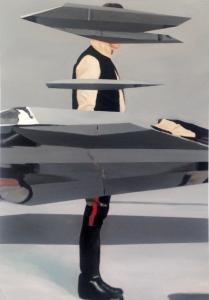 """return"", oil on canvas, 100x60 cm, 2014-15"