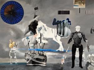200x150cm, oil on canvas, 2014