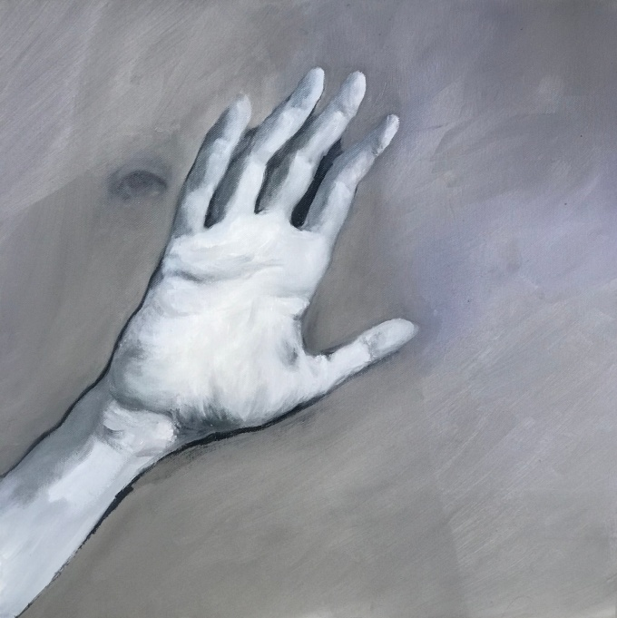 Miracle, oil on canvas, 50x50cm, 2020
